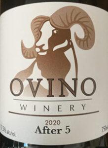 After 5, Ovino Winery, Dessert Wine, Okanagan