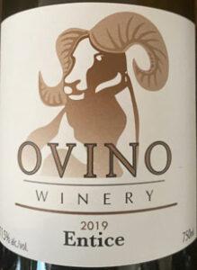 Ovino Winery, Entice 2019, Okanagan wines